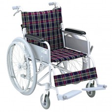 COMPACT ALUM WHEELCHAIR